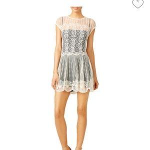 Valentino Cream Lace Dress